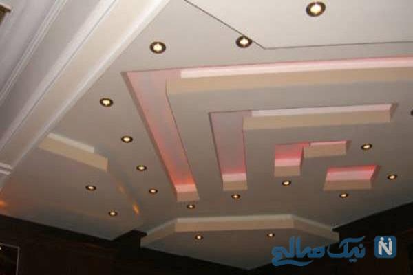 مدل کناف برای سقف