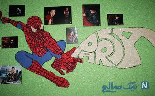 نمونه هائی از تزئین دیواری بلکا