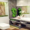 دکوراسیون حمام و دستشویی کوچک