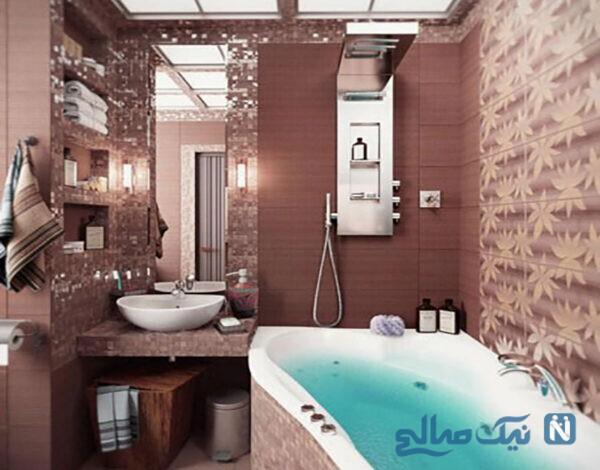حمام های شیک و مدل حمامهای شیک کوچک