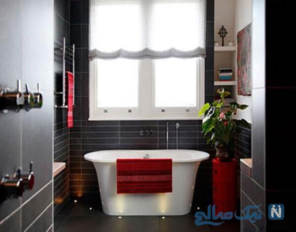 دکوراسیون حمام کوچک با چند طراحی زیبا و کاربردی