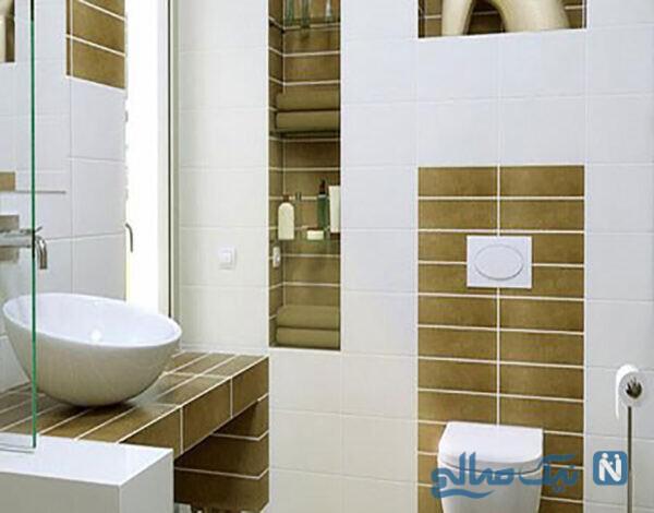 دکوراسیون دستشویی شیک و مدل حمامهای شیک کوچک