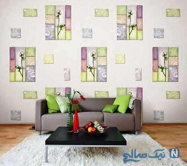 انتخاب کاغذ دیواری مناسب