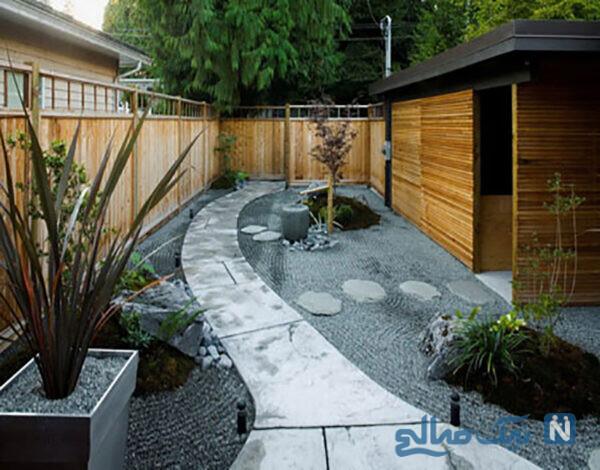 دکوراسیون حیاط خلوت مدرن