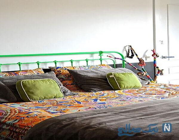 تخت خواب های رنگی