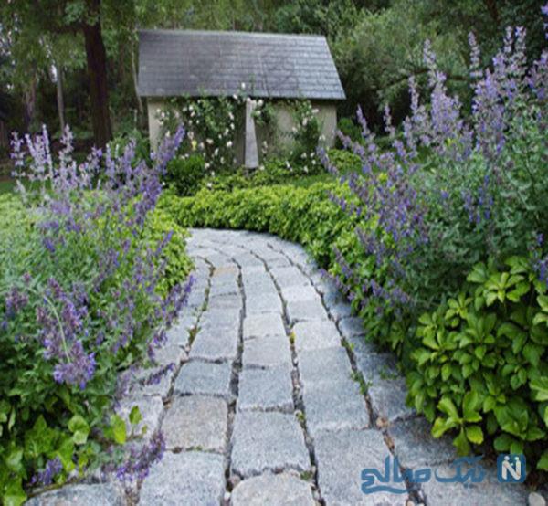 سنگ فرش باغ و حیاط