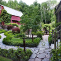 مدل های شیک سنگ فرش باغ و حیاط + تصاویر