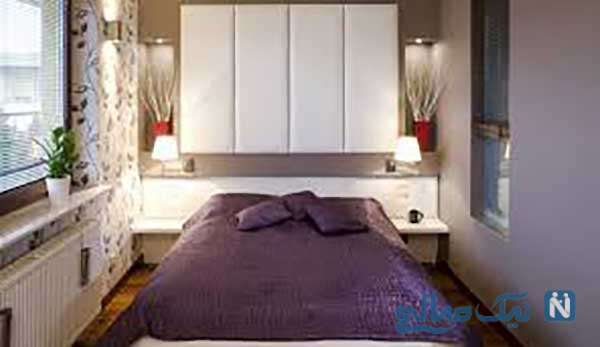 اصولی برای دکوراسیون اتاق خواب کوچک