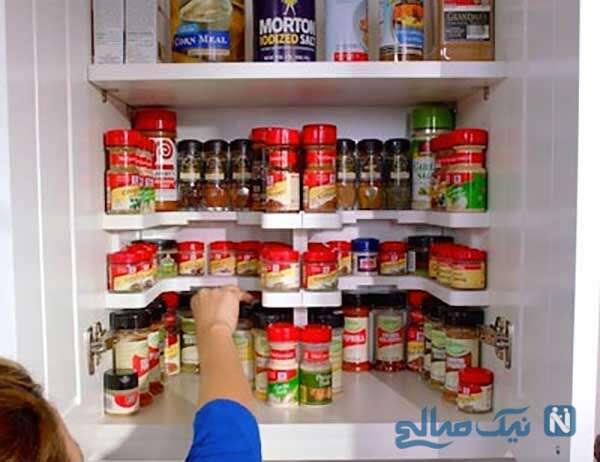 ایده هایی برای نظم دادن وسایل آشپزخانه