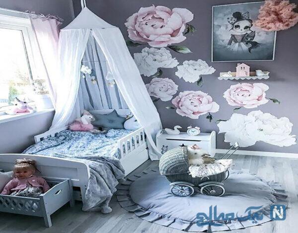 مدل طراحی اتاق کودک جدید