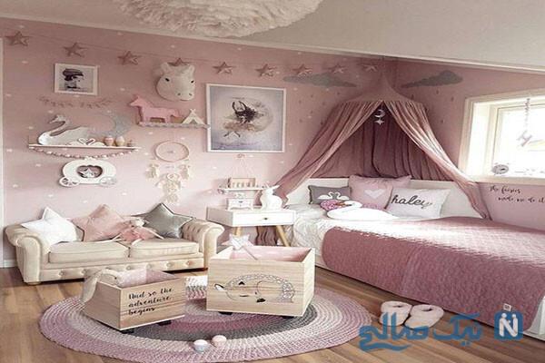 جدیدترین مدل دکوراسیون اتاق نوزاد