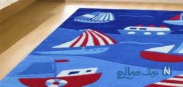 جدیدترین مدل فرش اتاق کودک سال