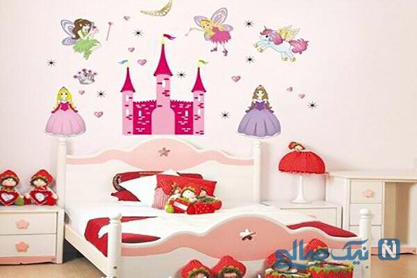جدیدترین کاغذ دیواری اتاق کودک بسیار زیبا
