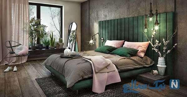 دکوراسیون فوق العاده زیبا برای اتاق خواب مدرن