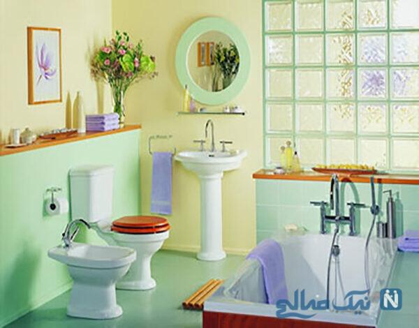 دکوراسیون حمام و دستشویی جدید
