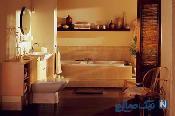 شیک ترین دکوراسیون حمام و دستشویی
