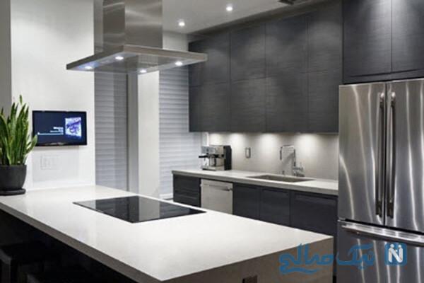 مدرن ترین کابینت آشپزخانه برای خانه شیک