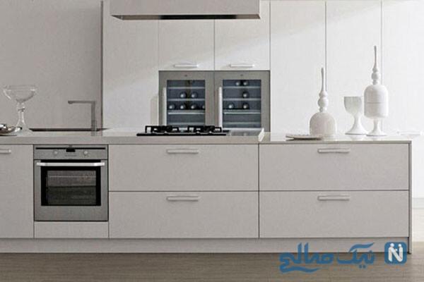 با کابینت سفید آرامش را به آشپزخانه خود بیاورید