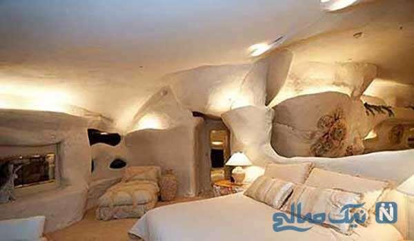 خانه ای که از کارتون عصر حجر الهام گرفته است