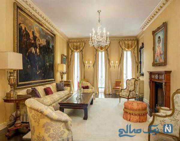 عکسهای دکوراسیون داخلی خانه مجلل اشرف پهلوی خواهر شاه