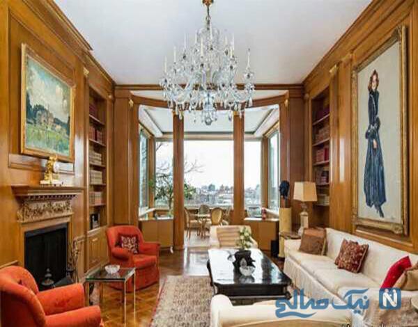 عکس های دکوراسیون داخلی منزل اشرف پهلوی در نیویورک