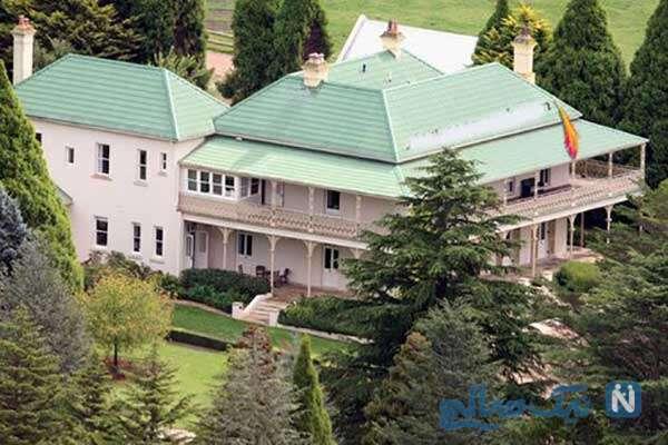 دکوراسیون خانه نیکول کیدمن
