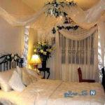 دکوراسیون و تزیین اتاق خواب عروس با ایده های جدید اروپایی+تصاویر