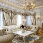 ایده های کلاسیک را در دکوراسیون زیبای خانه ویشکا آسایش ببینید