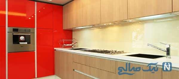 ایده بسیار جذاب آشپزخانه شیشه ای بر روی بام