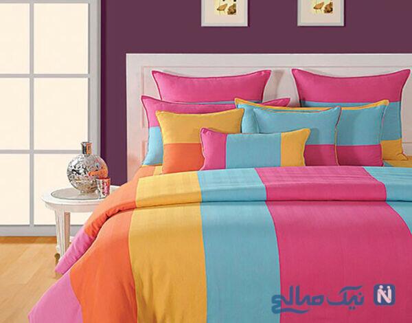 تختخواب رنگارنگ