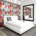 برای شیک شدن دکوراسیون منزل کاغذ دیواری بهتر است یا رنگ؟؟