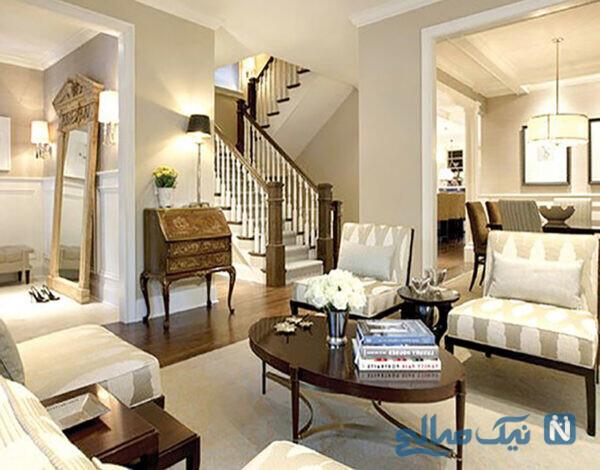 برای خانه های کوچک رنگ بهتره یا کاغذ دیواری؟