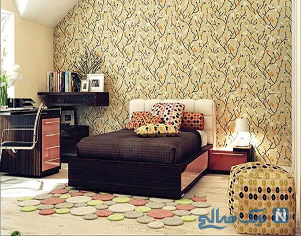 دیوارهای خانه را کاغذ دیواری کنیم یا رنگ؟
