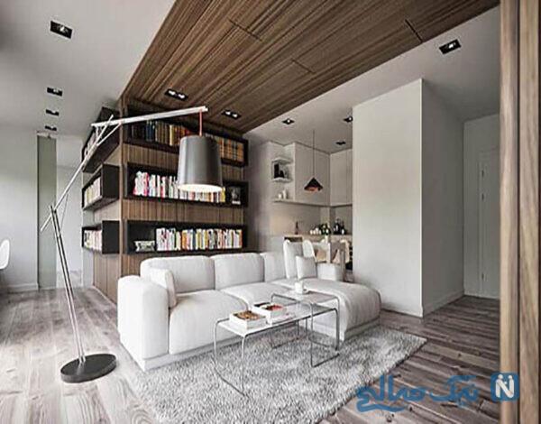 مدل لوستر اتاق نشیمن با طراحی بی نظیر