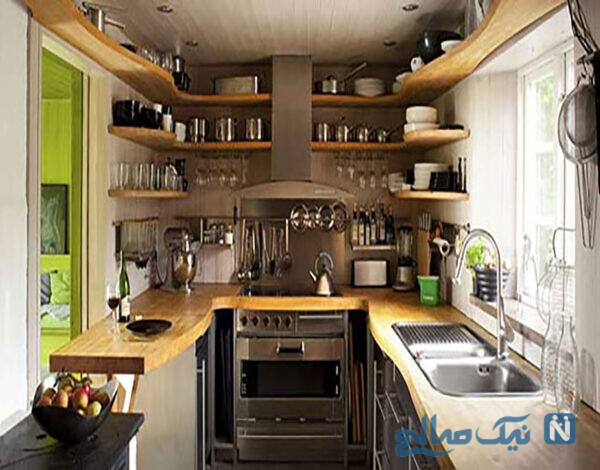 نکات در مورد آشپزخانه کوچک