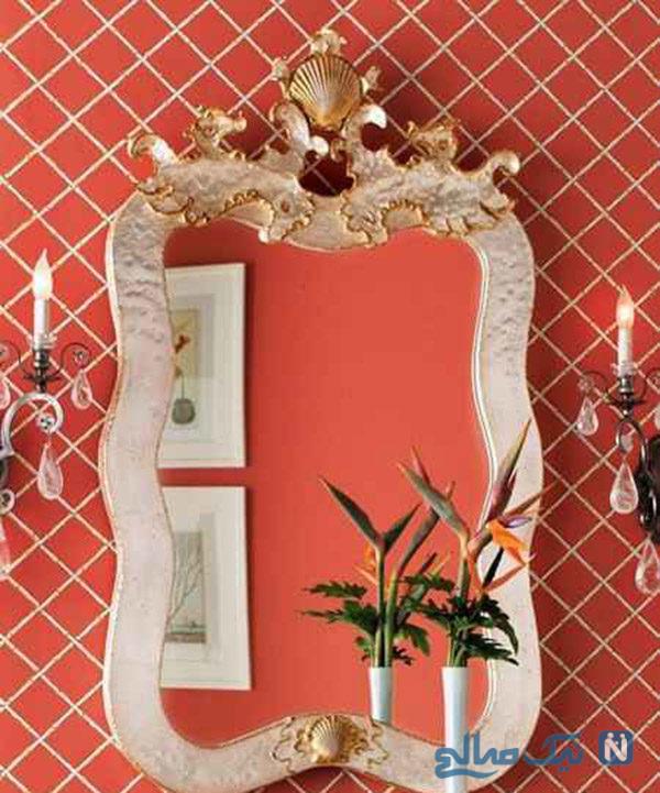 مدلهای آینه و شمعدان عروس