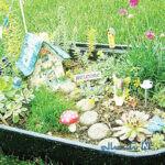 در خانه کوچک خود باغ رویایی مینیاتوری بسازید