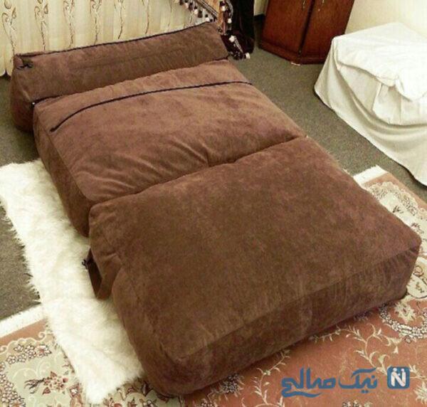 تخت خواب های شنی برای دکوراسیون داخلی خانه