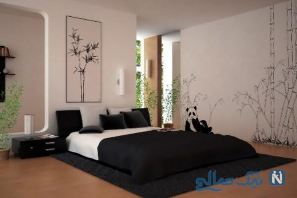 دکوراسیون اتاق خواب و مدل تخت خواب دو نفره