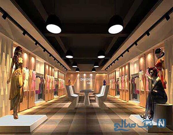 طراحی داخلی مغازه شیک و کاربردی