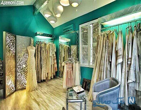 طراحی دکوراسیون داخلی مغازه شیک