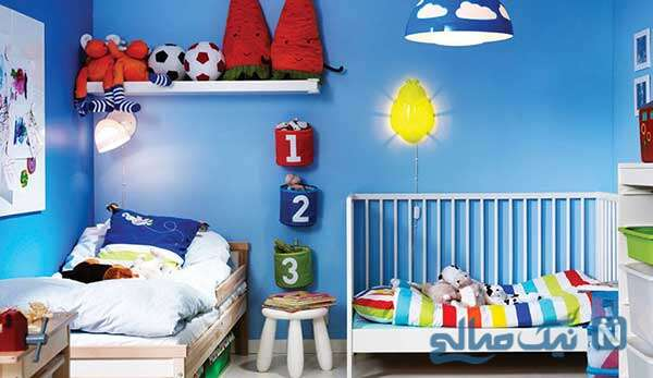 طراحی شگفت انگیز اتاق کودک