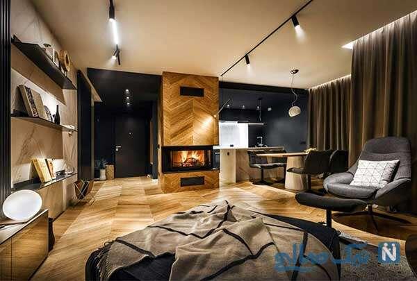 دکوراسیون مدرن خانه مجردی