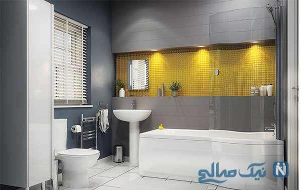 راه هایی برای نورپردازی حمام