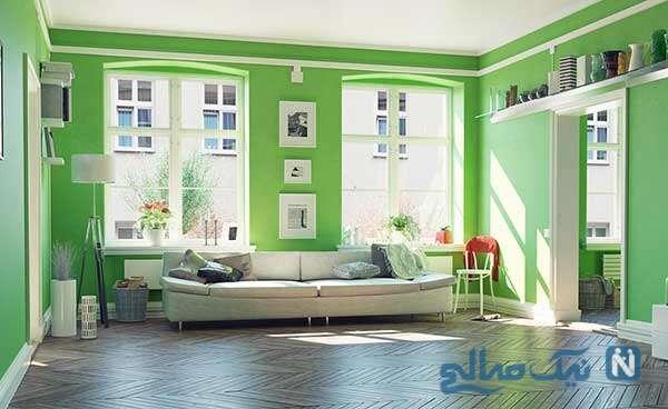 ایده رنگ آمیزی دیوار