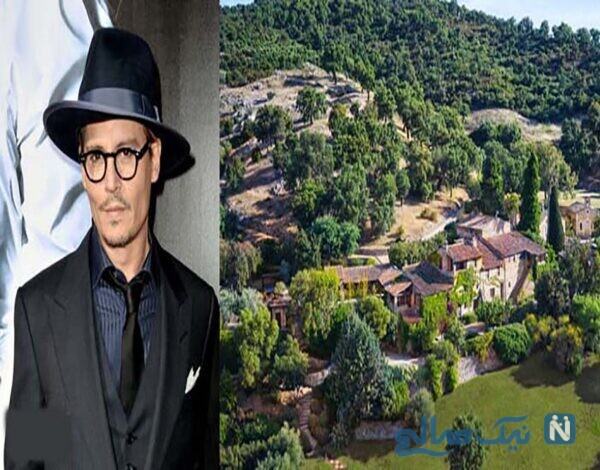 جانی دپ؛ مالک روستایی ۲۶میلیون دلاری