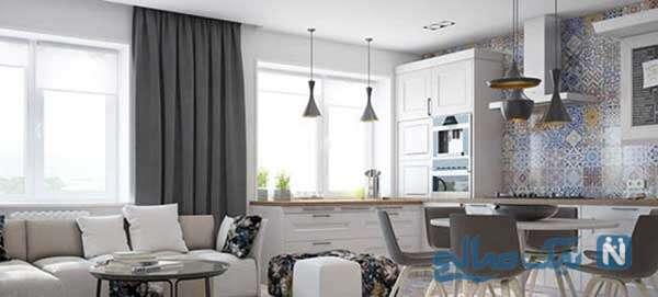 زیبایی و مدرن بودن دکوراسیون خانه با تم خنثی/ خانه ای منحصر به فرد بسازید