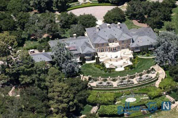 شیک ترین و گران ترین خانه ستاره های هالیوودی