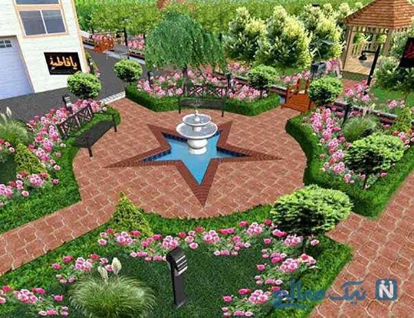 طراحی باغچه در فضای خانه