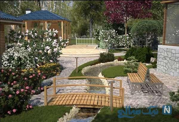 استفاده از گیاهان سبز در لابی ورودی